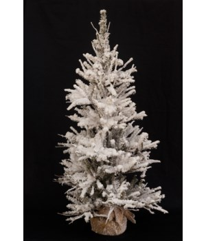 Christmas Tree-Snowy Pine with 438 Tips - 3' H