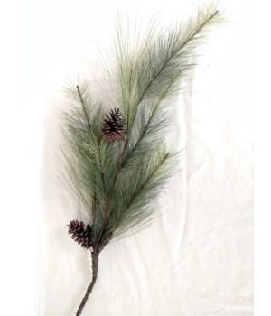 Pick - Long Pine Needles W/Pinecones