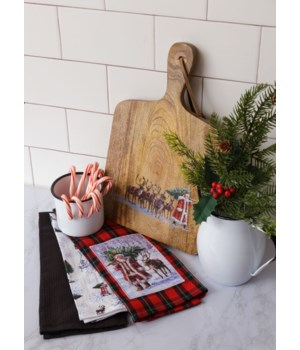 Santa Claus Lane - Tea Towels