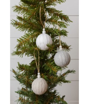 Ornaments - Fabric Balls