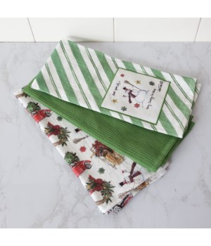 Home For The Holidays - Tea Towels