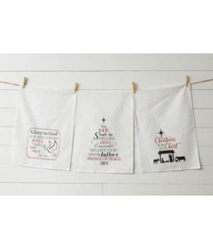 Nativity Tea Towels