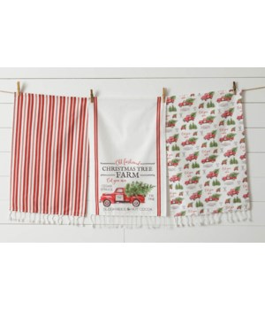 Tea Towels - Christmas Tree Farm