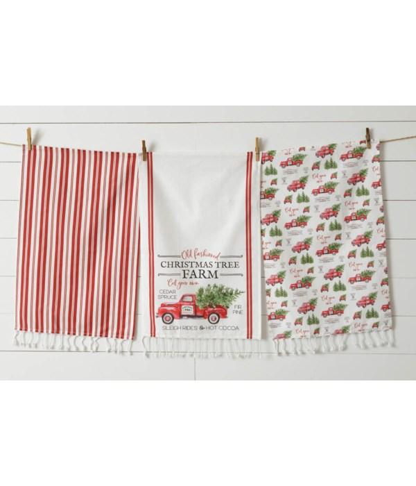 Tea Towels - Christmas Tree Farm