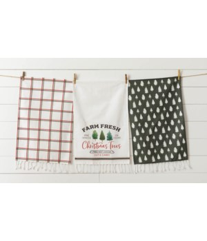 Tea Towels - Farm Fresh Christmas Trees