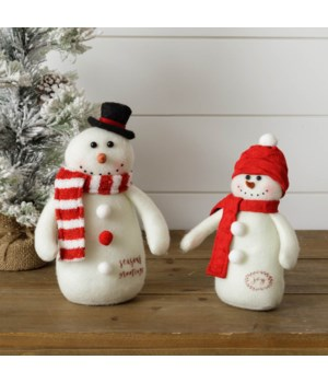 Snowmen Couple - Seasons Greetings