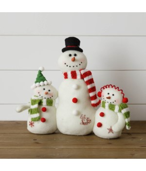Snowmen Family - Let It Snow