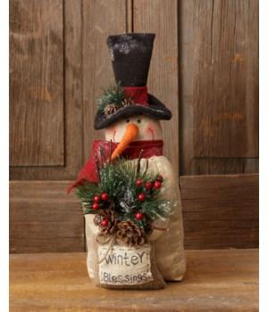 Snowman - Winter Blessings Lights, Timer