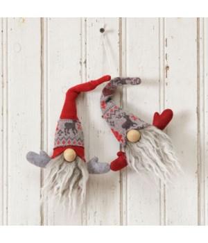 Snow Lodge - Gnome Head Ornament
