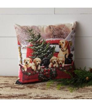 Pillow - Retriever Tree Farm
