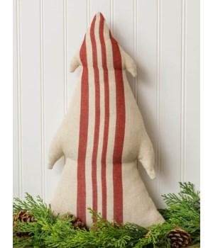 Striped Tree Pillow, Thick Stripes