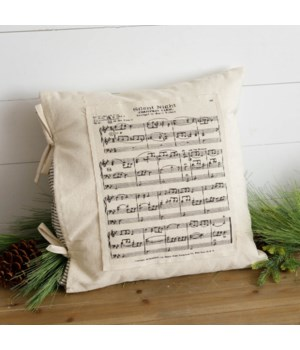 Pillow With Slip - Silent Night