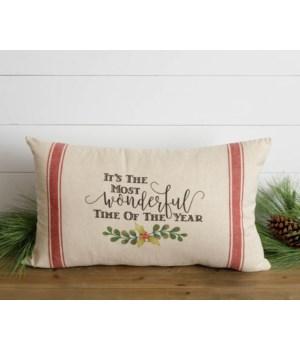 Most Wonderful Time Grainsack Pillow