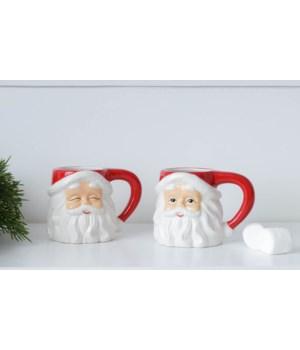 Classic Santa Mugs, 10 oz.