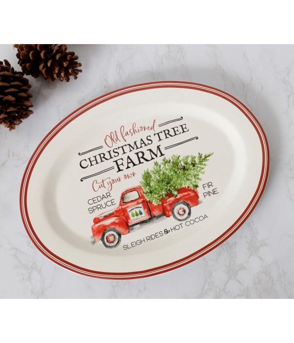 Christmas Tree Farm Platter