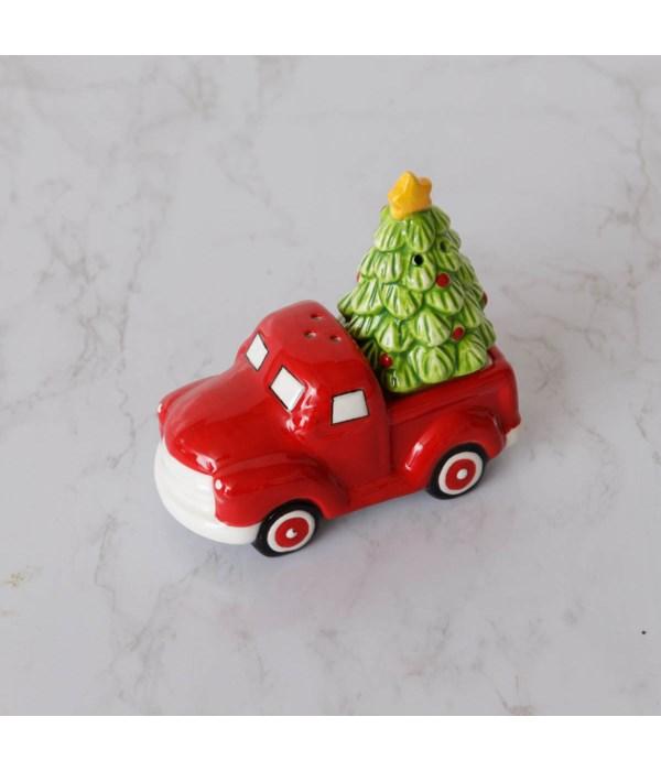 Christmas Truck Salt And Pepper Shaker