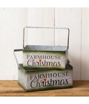 Tins - Farmhouse Christmas