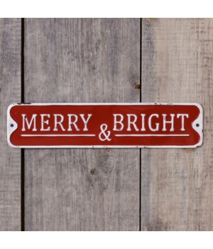 Sign - Merry and Bright