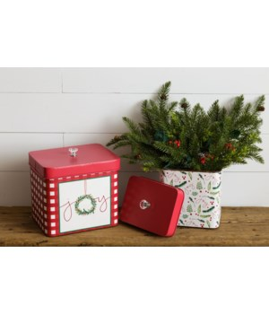 Christmas Joy - Containers