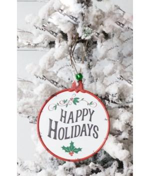 Ornaments - Holiday Greetings