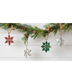 Ornament - Snowflakes, Assorted