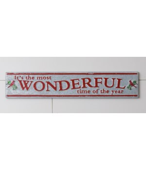 Sign - Wonderful Time of the Year