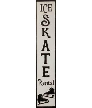Ice Skate Rental Sign