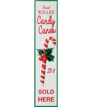 Sign - Hand Rolled Candy Canes