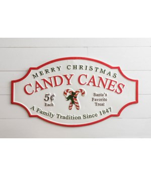 Candy Canes Sign