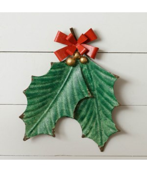 Wall Hanging - Holly Leaves