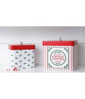 Mrs. Claus Bakery Container