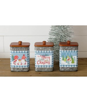 Winter Gnome Containers