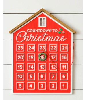 Countdown To Christmas House Calendar