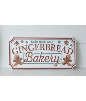 Sign - Gingerbread Bakery