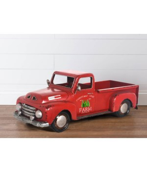 Antique Christmas Tree Farm Truck, Lg