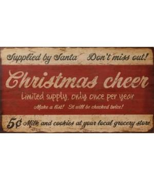 Wood Sign - Christmas Cheer