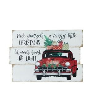 Sign - A Merry Little Christmas