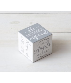 Wooden Block with Inspirations