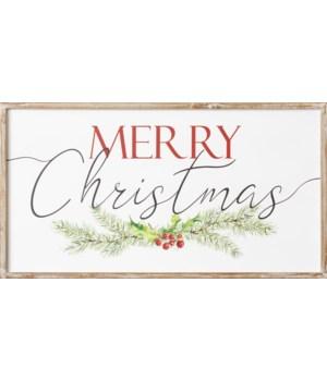 Sign - Merry Christmas
