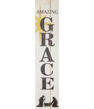 Sign - Amazing Grace Nativity