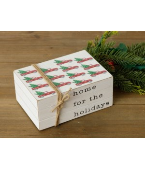 Stamped Books - Home For The Holidays