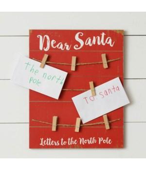 Dear Santa Letter Holder