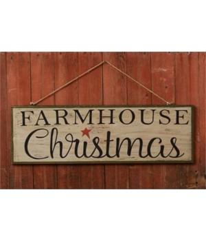 Sign - Farmhouse Christmas