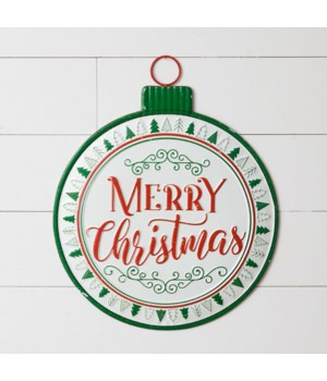Hanging Sign - Merry Christmas Ornament