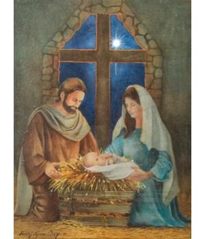 LED Canvas - Nativity