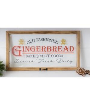 Window - Gingerbread Bakery