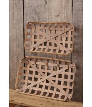 Tobacco Basket - Clips 17 in. x 27 in., 13.5 in. x 23 in.