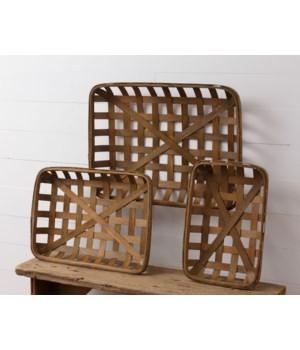 Tobacco Basket - Rectangular