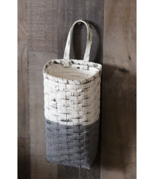 Hanging Basket - Two-tone, Large 16.5 in. x 6.5 in. x 5.5 in.