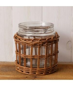 Jar - Basket Sleeve 8.5 in. x 8 in.